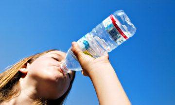 Water drinken als een koning